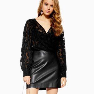 Topshop Faux Dress